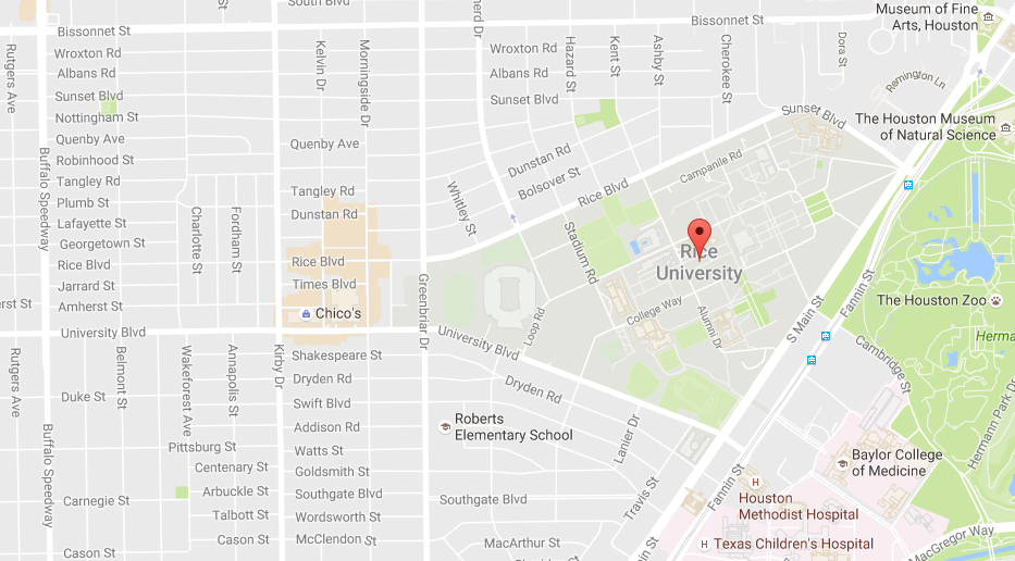 Rice University Map Vma Vivaldi Music Academy