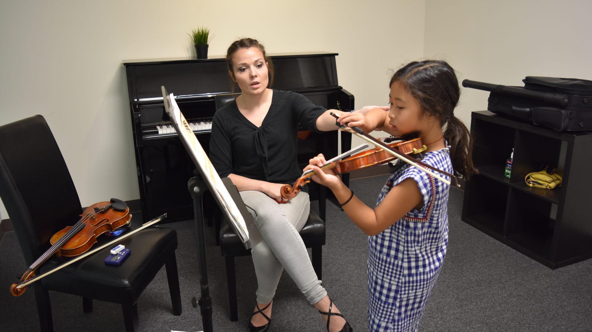 Bonnie – Violin lessons