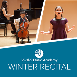Vivaldi Music Academy Winter Recital at Rice University