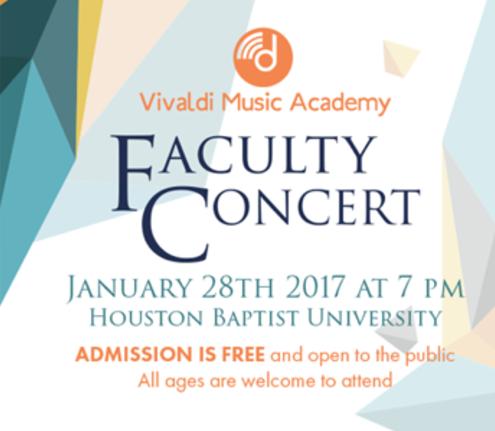 Faculty Concert – HBU – Jan 2017