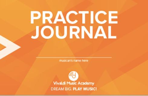 Vivaldi Music Academy's Practice Journals
