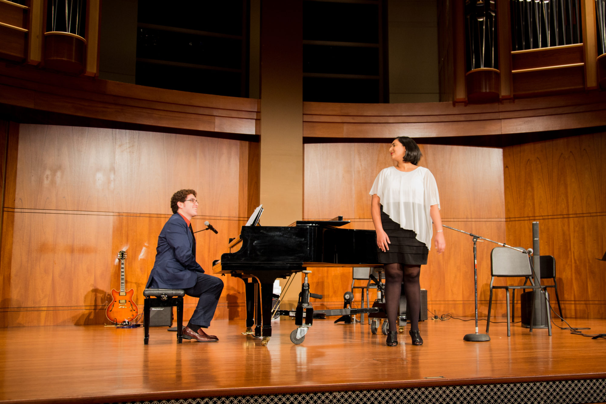 Arsh and John – Voice and Piano teachers at Faculty Recital