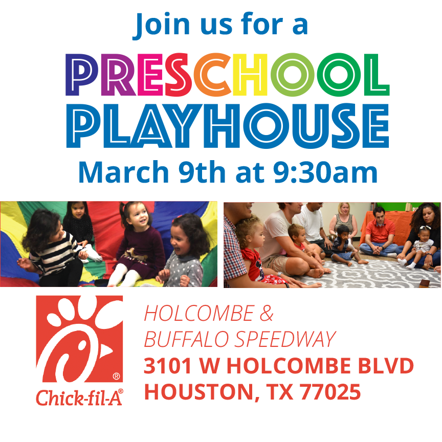 Early Childhood Music Classes goes to Chick-fil-a