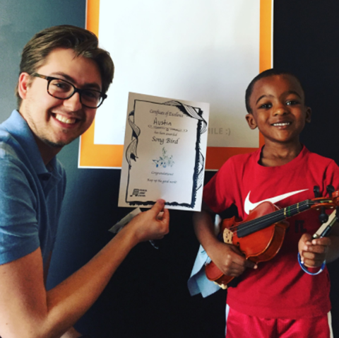 Violin Lessons at Vivaldi Music Academy