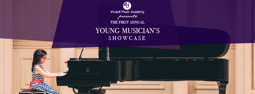 Piano Lessons Houston - Young Musicians Showcase banner