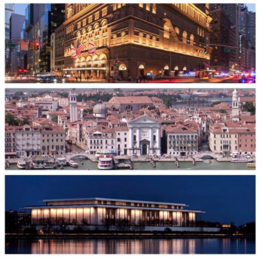From Venice, Italy to Carnegie Hall in New York City and Washington D.C. for the Kennedy Center - Performance opportunities