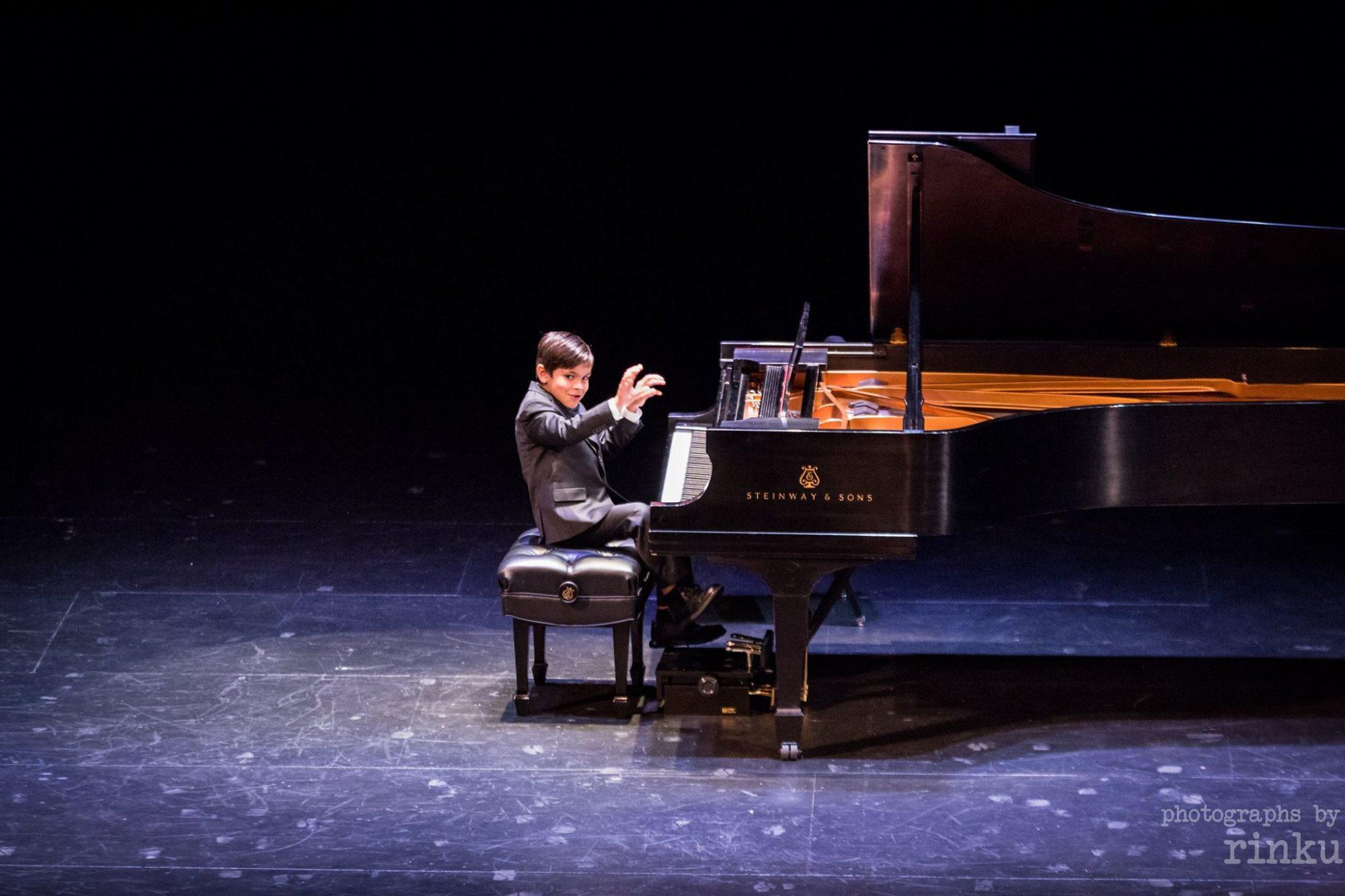 Alex Pavlovic at The Kennedy Center