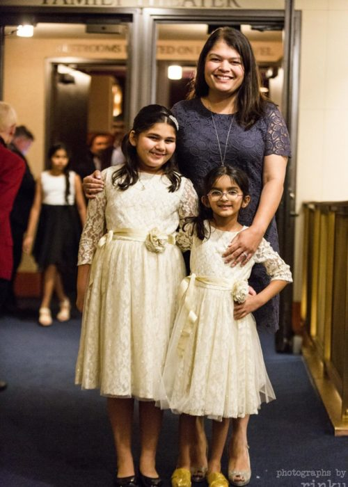 Dhir Family at the Kennedy Center