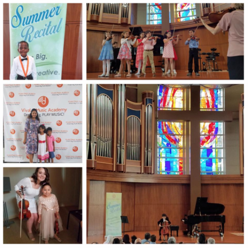 Summer Recital for Vivaldi Music Academy students