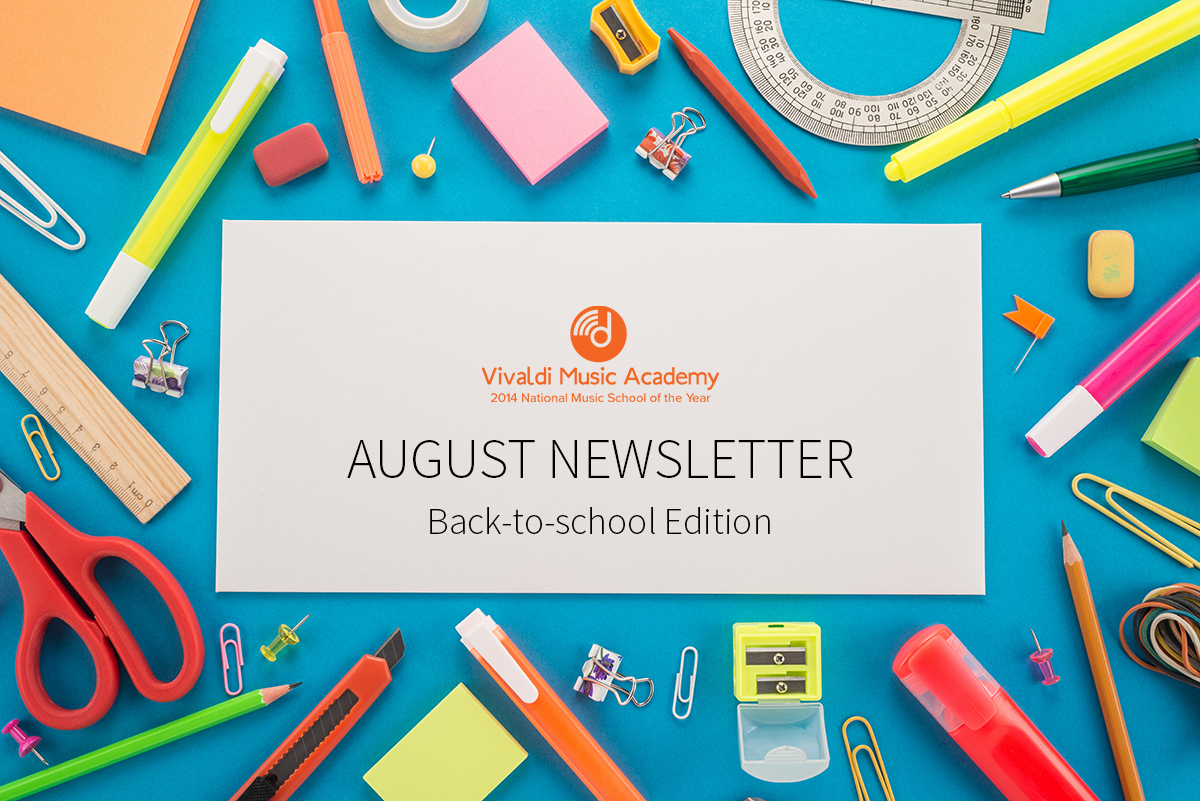 Back to School – August Newsletter