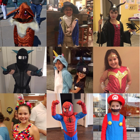 Halloween Contest at Vivaldi Music Academy
