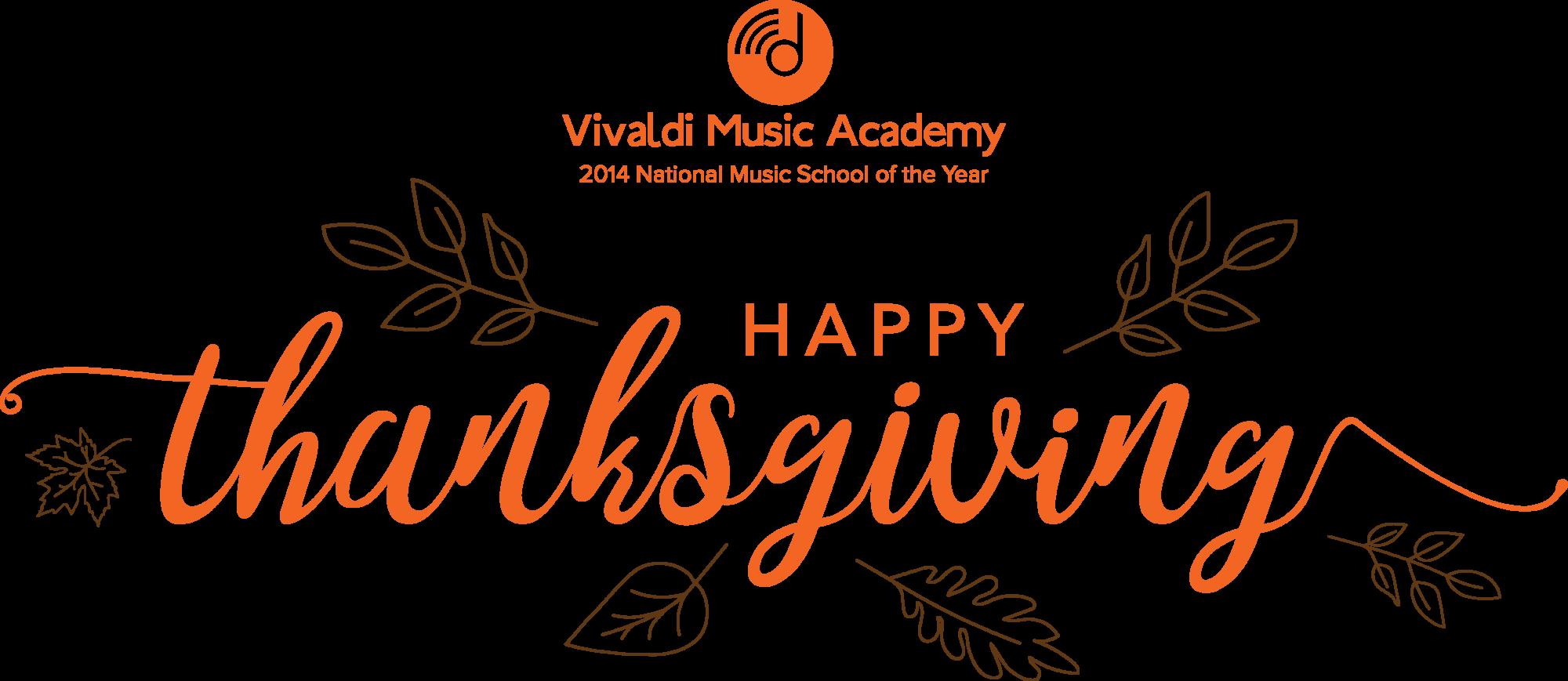 Happy Thanksgiving Vivaldi Families