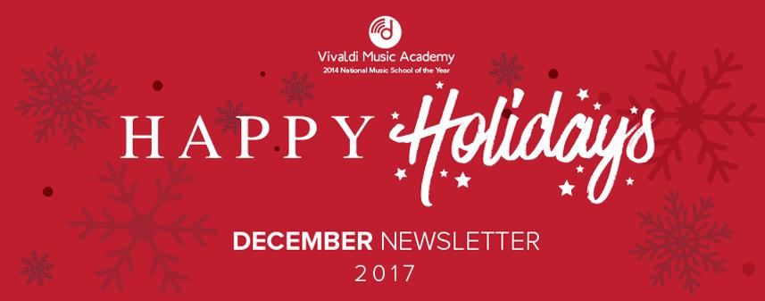 Happy Holidays from Vivaldi Music Academy