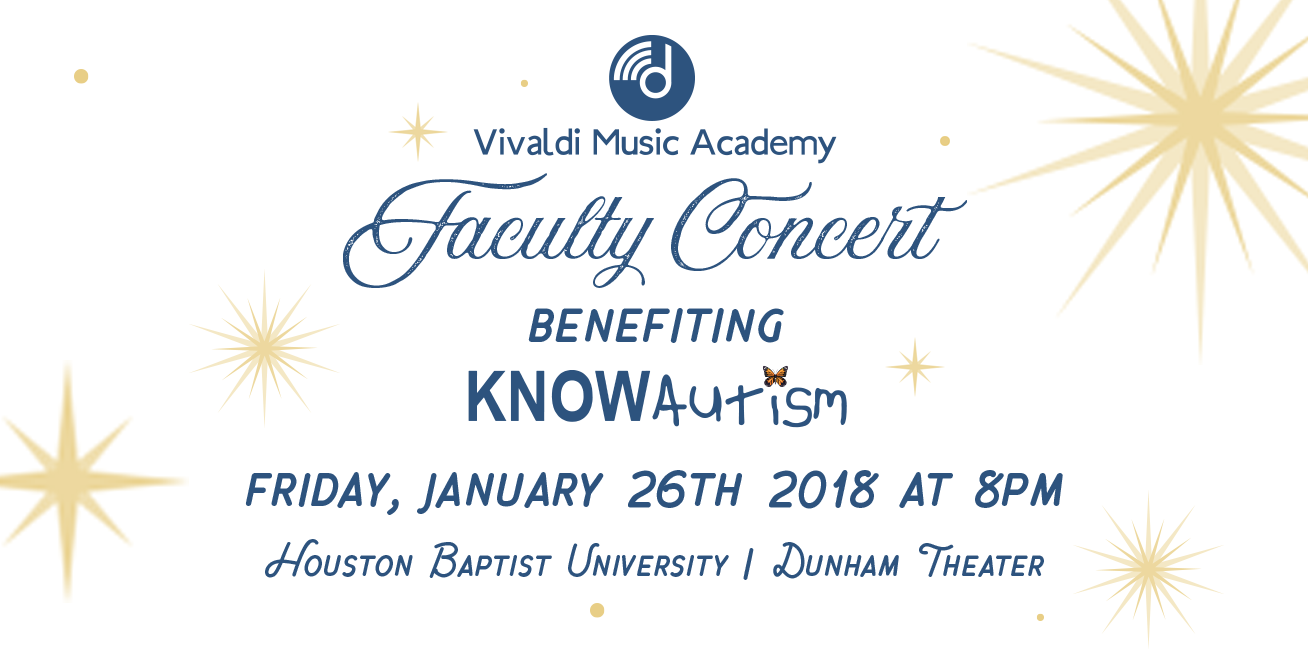Faculty Concert - Jan 26th
