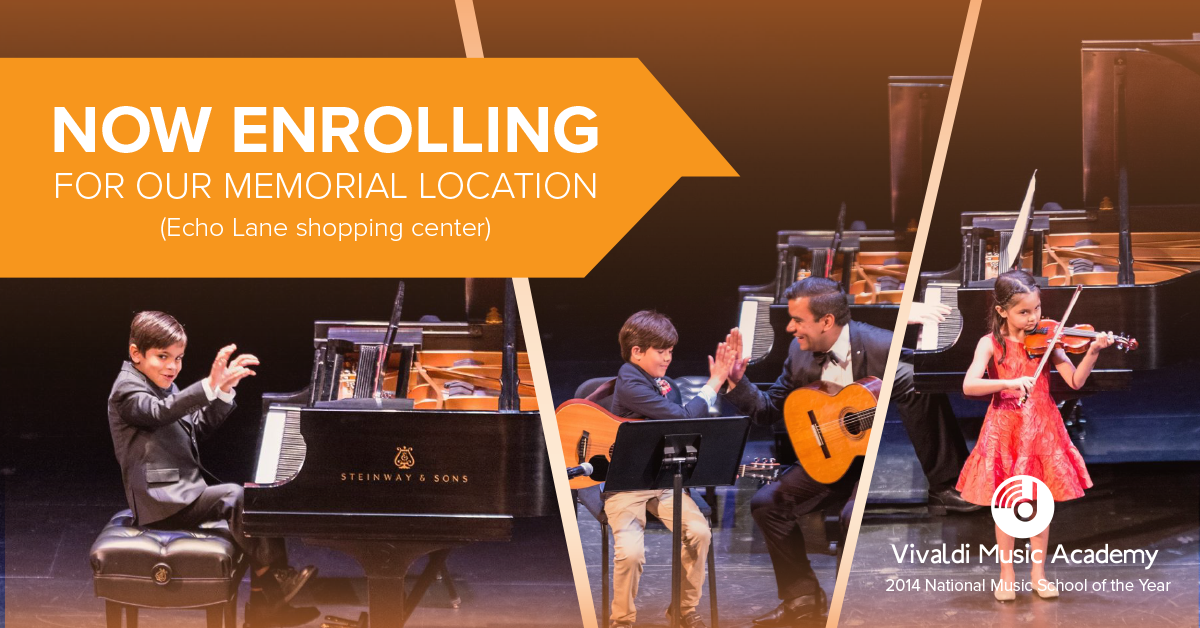 Memorial Music Lessons - Sign up Today