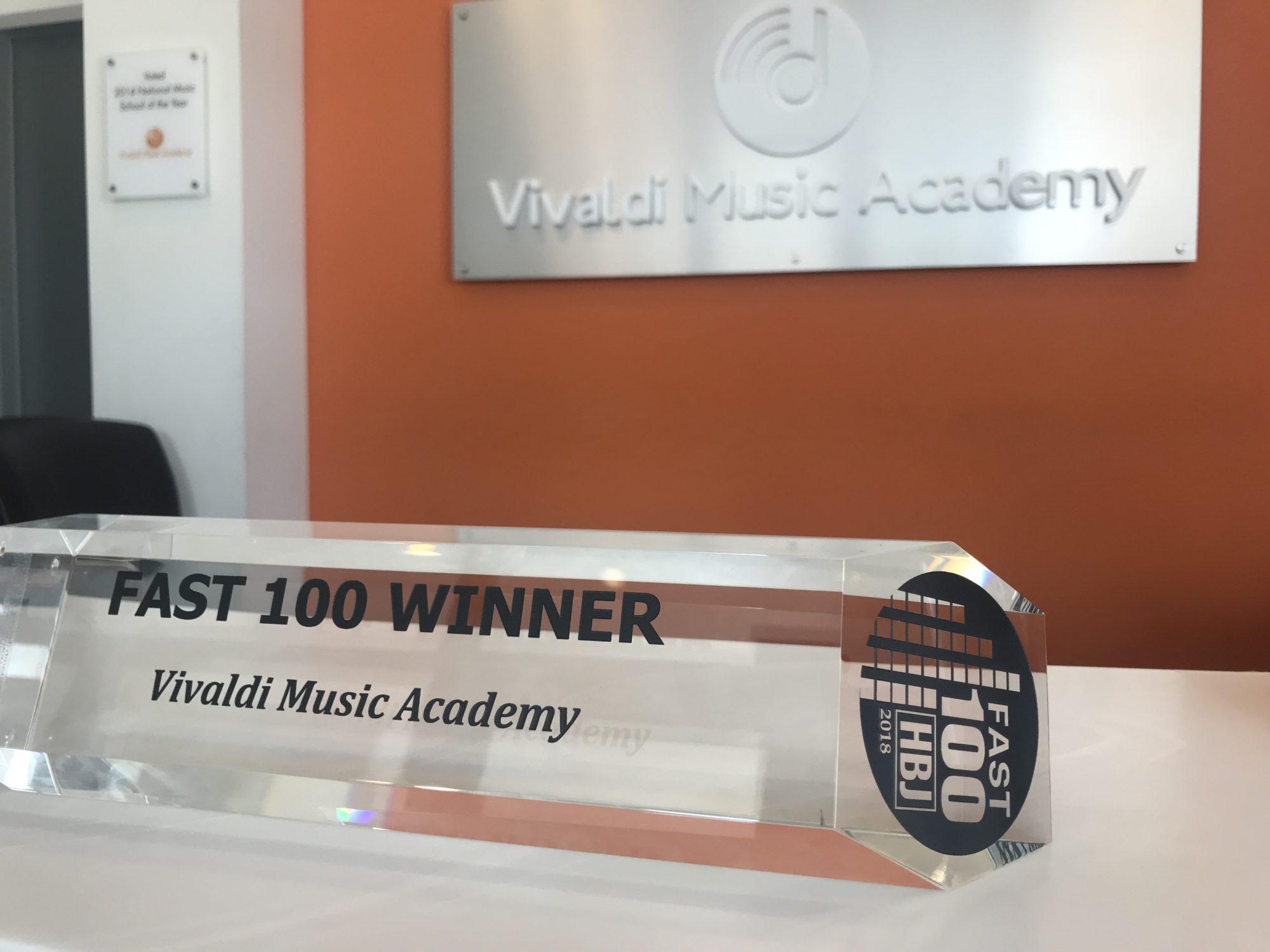 Fast 100 - 2018 - Vivaldi Music Academy
