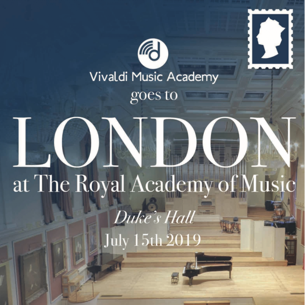Vivaldi Music Academy goes to London - The Royal Academy of Music