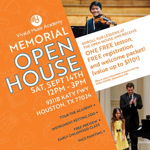 Memorial Open House