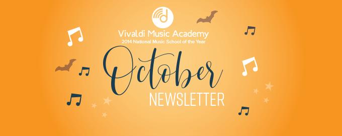October 2019 Newsletter - Vivaldi Music Academy