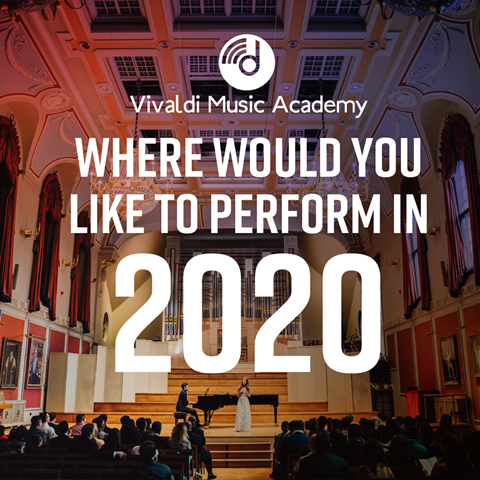 Where Would You Like to Perform in 2020?