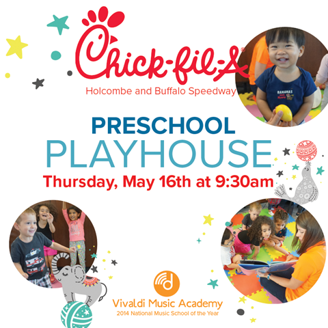 Preschool Playhouse at Chick-fil-a on Holcombe and Buffalo Speedway