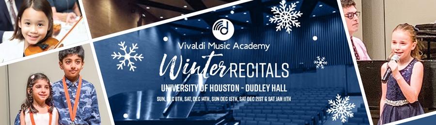 Winter Recitals
