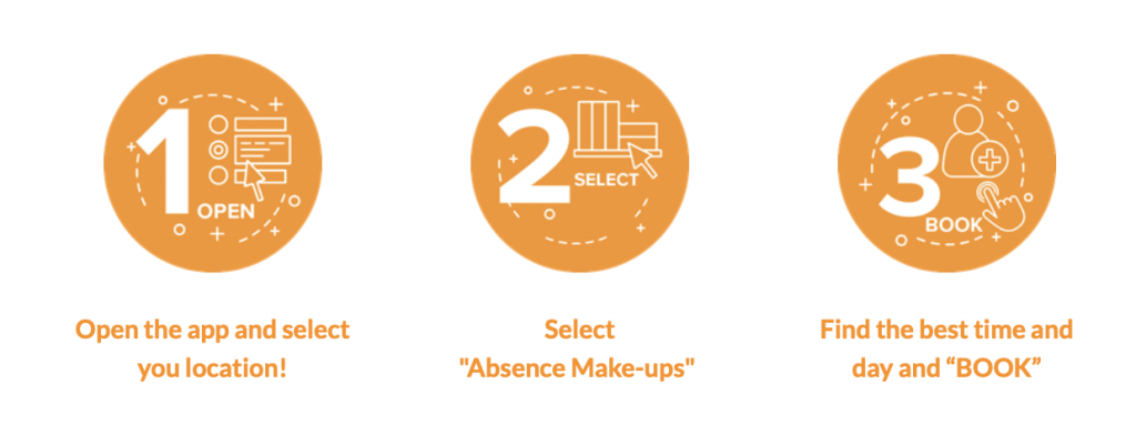 SCHEDULE YOUR ABSENCE AND ABSENCE MAKE-UP