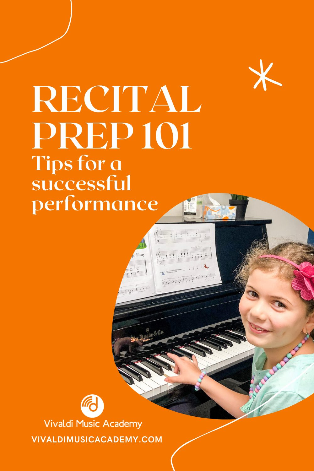 Recital Preparations for Private Music Lessons